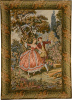 Danza wall tapestry - Francois Boucher art tapestries