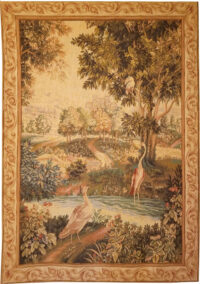 Verdure aux Oiseaux tapestry - 18th century Audenaarde gobelins