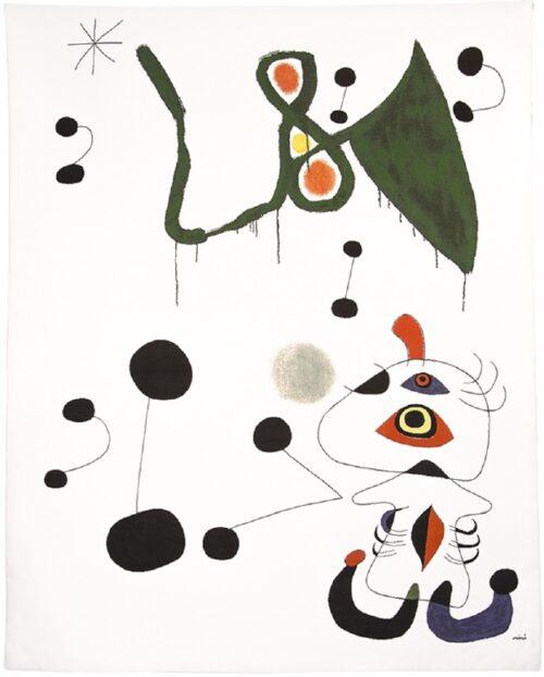 Femme et Oiseau dans la Nuit - Woman and Bird in the Night - Joan Miro
