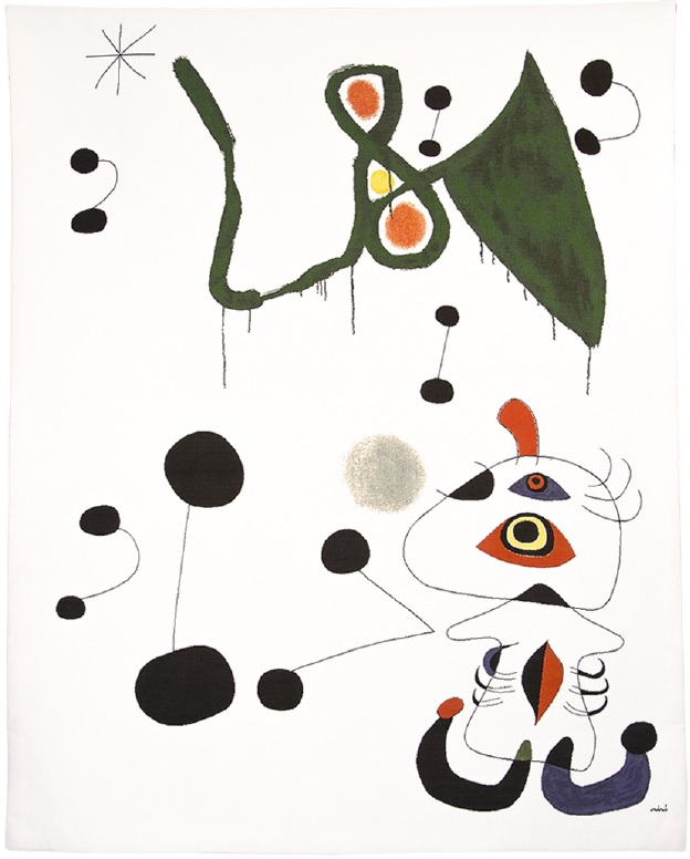 Femme et Oiseau dans la Nuit - Woman and Bird in the Night - Joan Miro