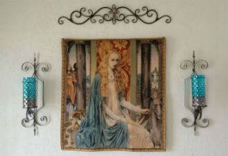 Arts and Crafts tapestry wall-hangings - William Morris, Edward Burne-Jones and other Arts & Crafts tapestries