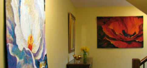 Contemporary wall tapestries - fine art, floral and landscapes