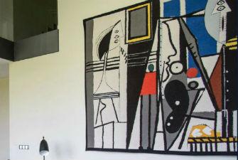 Fine art wall tapestries