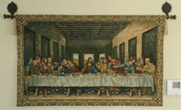 Religious tapestries - The Last Supper, madonnas