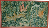 Greenery Tapestry - Arts and Crafts tapestries