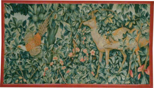Greenery Tapestry - Arts and Crafts wall tapestries