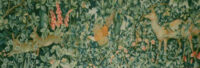 Greenery Tapestry by John Henry Dearle - Arts & Crafts tapestries