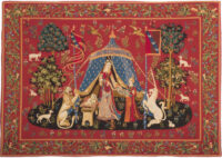 To My Sole Desire tapestry wallhanging - A Mon Seul Desir