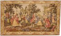 Louis XV Garden tapestry, right - Francois Boucher Rococo tapestries