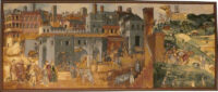 The Allegory of Good Government tapestry - Siena wall-hanging