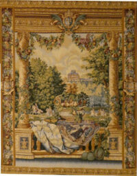 Versailles Chateau tapestry - Louis XIV chateaux tapestries