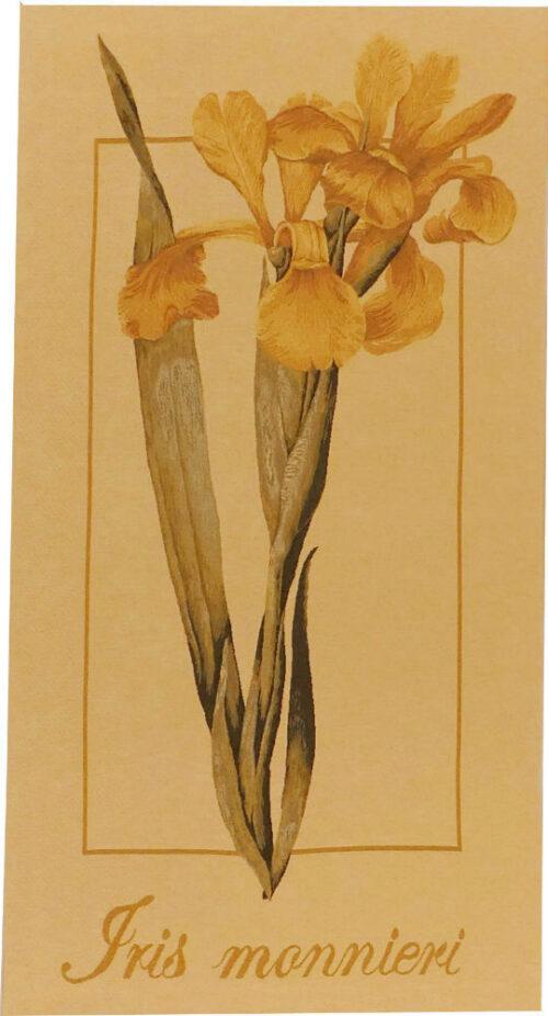 Iris Monnieri tapestry - French botanical wall tapestries