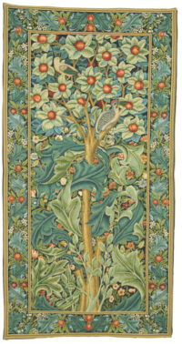 The Woodpecker tapestry by William Morris - Arts and Crafts design