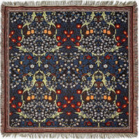 Blackthorn throw by William Morris - Morris & Co textiles