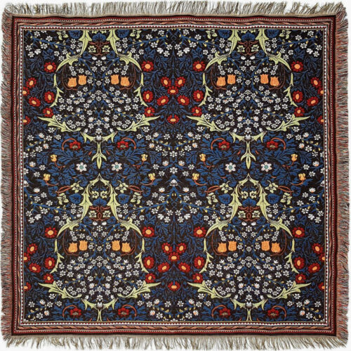 Blackthorn throw by William Morris - Morris & Co textiles