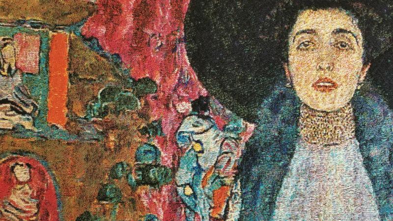 Portrait of Adele Bloch-Bauer II detail