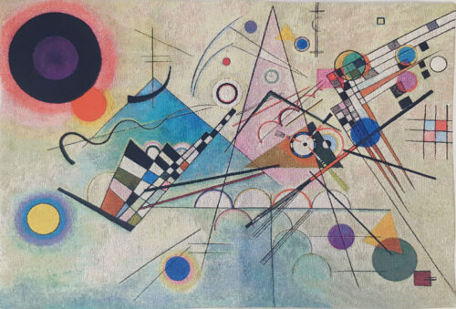 Composition VIII tapestry - Wassily Kandinsky tapestries