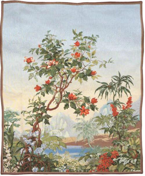Flamboyant Tree tapestry - Sous les Tropiques tapestries