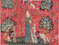 Le Toucher tapestry - Musée national du Moyen Âge tapestries