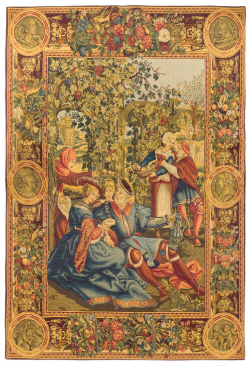 Month of October tapestry - 16th century Lucas tapestries