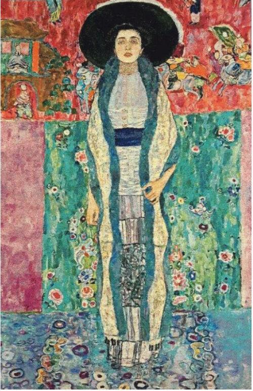 Portrait of Adele Bloch-Bauer II tapestry - Gustav Klimt tapestries
