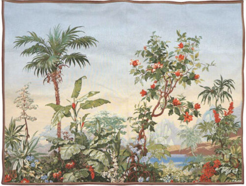 Sous les Tropiques tapestry - Fine French wallhanging tapestries