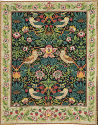 Strawberry Thief tapestry by William Morris - Arts and Crafts tapestries