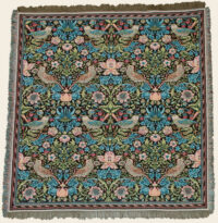 Strawberry Thief throw by William Morris - Arts and Crafts designs