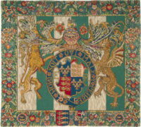 Royal Arms of England tapestry - Tudor Coat of Arms