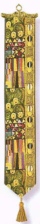 The Kiss bellpull - Gustav Klimt bellpulls